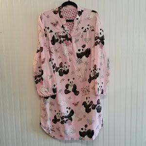Nick & Nora Panda Sleep Shirt